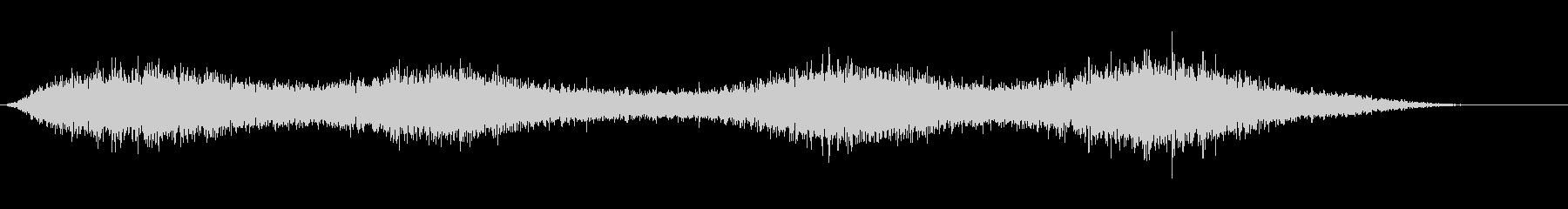 【生録音】 早朝の街 交通 環境音 7の未再生の波形