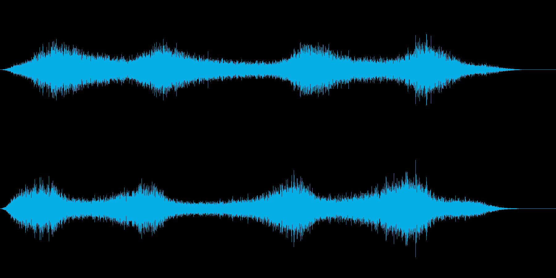 【生録音】 早朝の街 交通 環境音 7の再生済みの波形