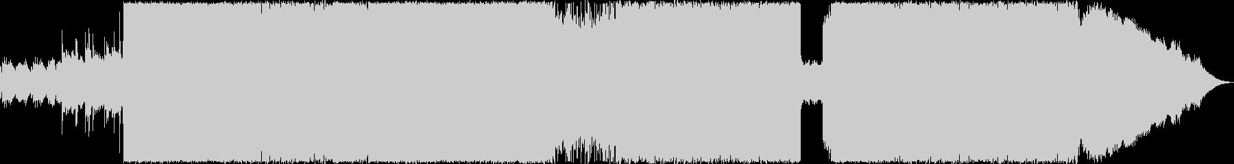 少しシンフォニックなブラックメタルの未再生の波形