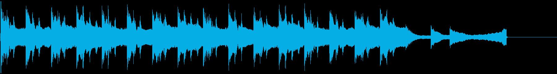 幻想的・ミステリアス・ジングル Cの再生済みの波形