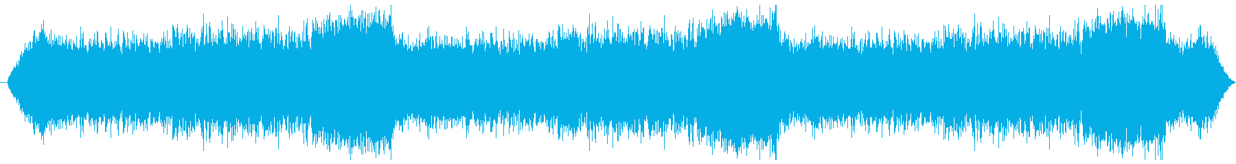 サイコ感のあるクレシェンドのあるBGSの再生済みの波形