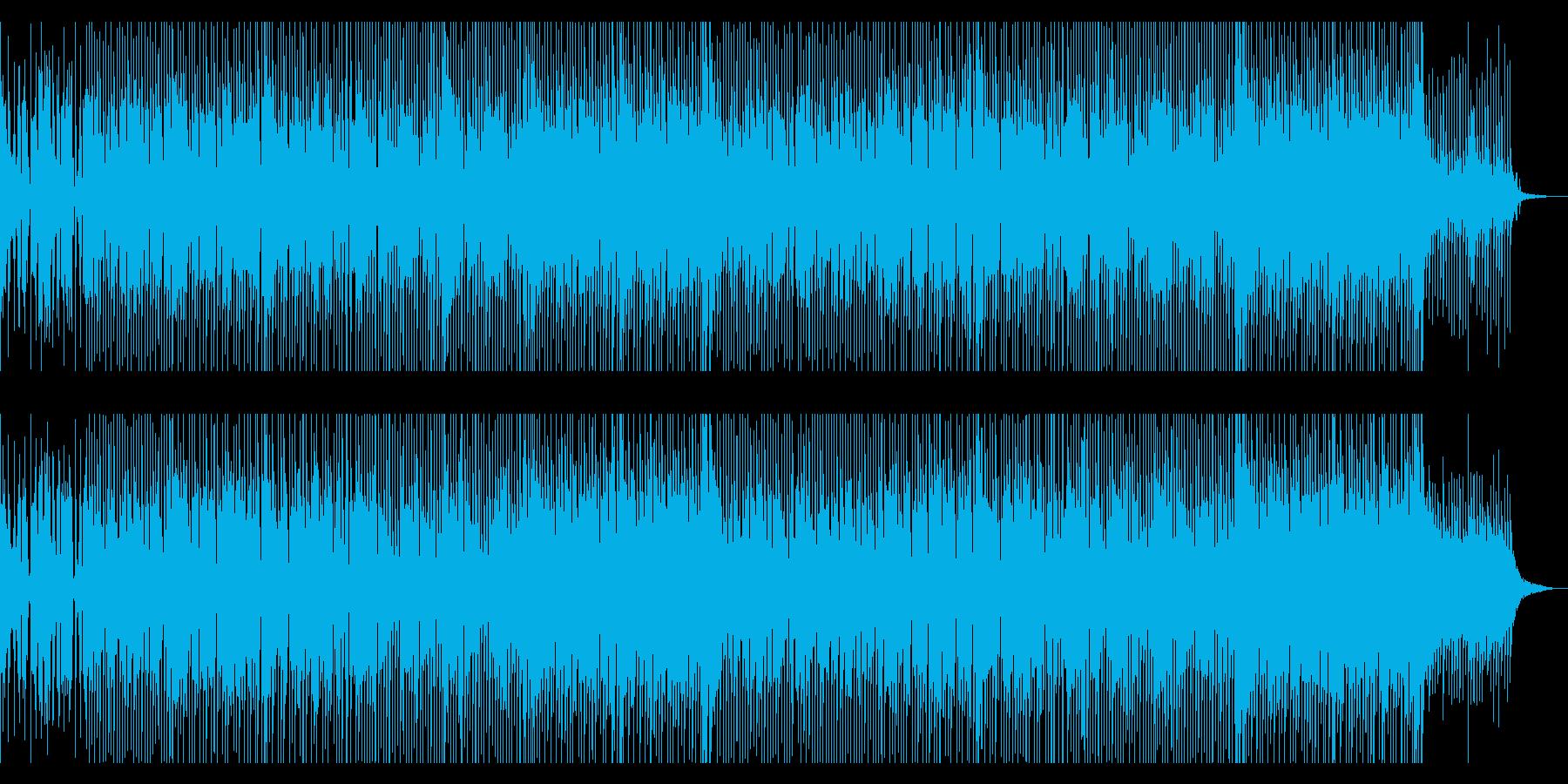 爽やかでカッコいいポップス曲の再生済みの波形