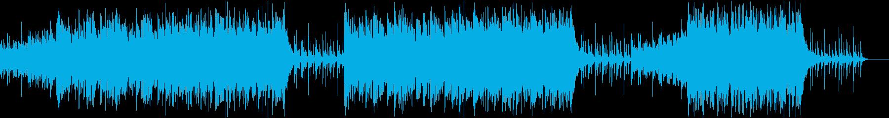 ひも付きのインスピレーションあふれるピアの再生済みの波形