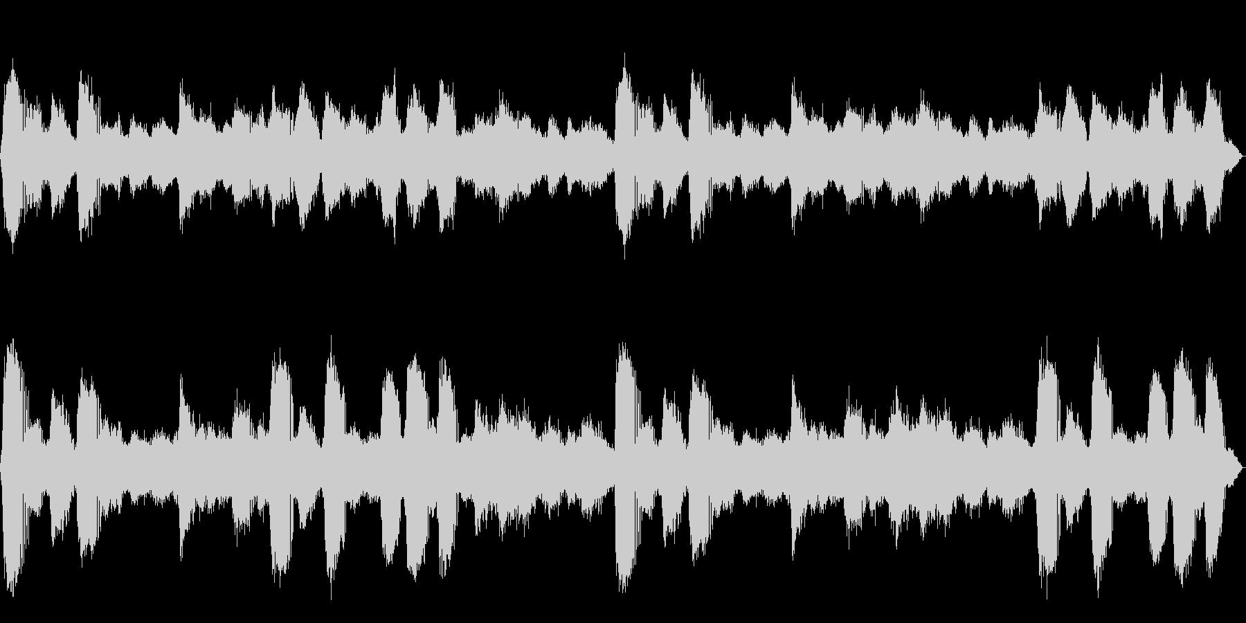 [生録音]ヒグラシの鳴く森01の未再生の波形