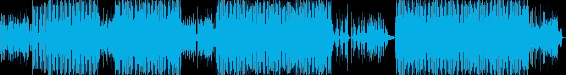 メロディアスなしっとりピアノハウスの再生済みの波形