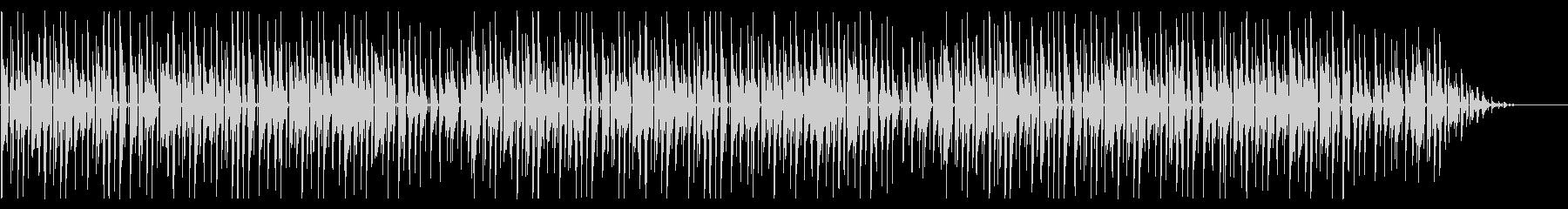 童謡「虫の声」脱力系アレンジの未再生の波形