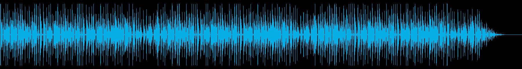 童謡「虫の声」脱力系アレンジの再生済みの波形