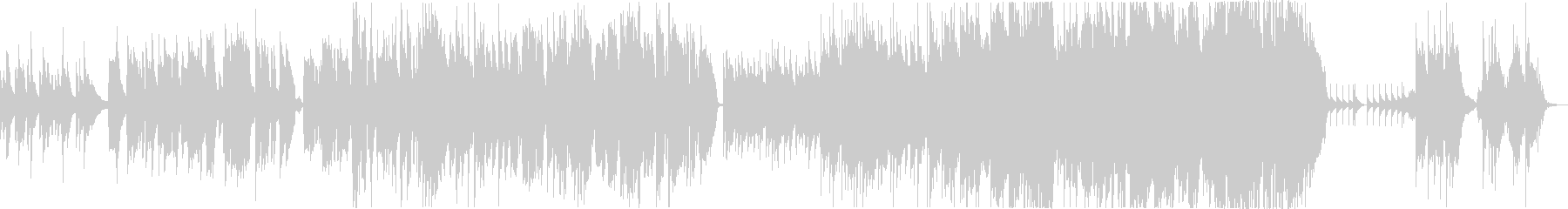 C-POPでリラックスな曲の未再生の波形