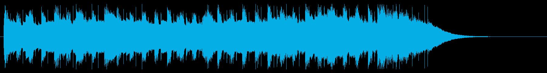 企業VPジングル プレゼン的爽やかギターの再生済みの波形