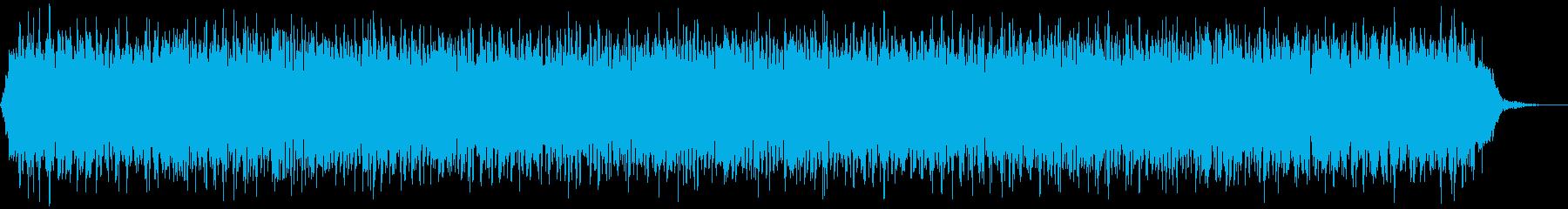 【アンビエント】ドローン_14 実験音の再生済みの波形