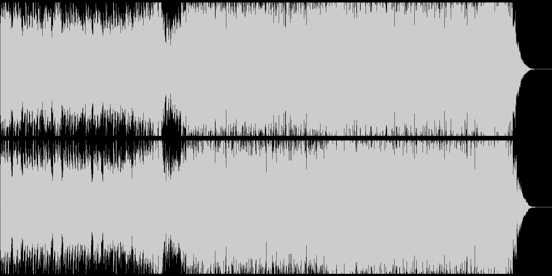 「カノン」ざっくり42秒 EDMまとめの未再生の波形