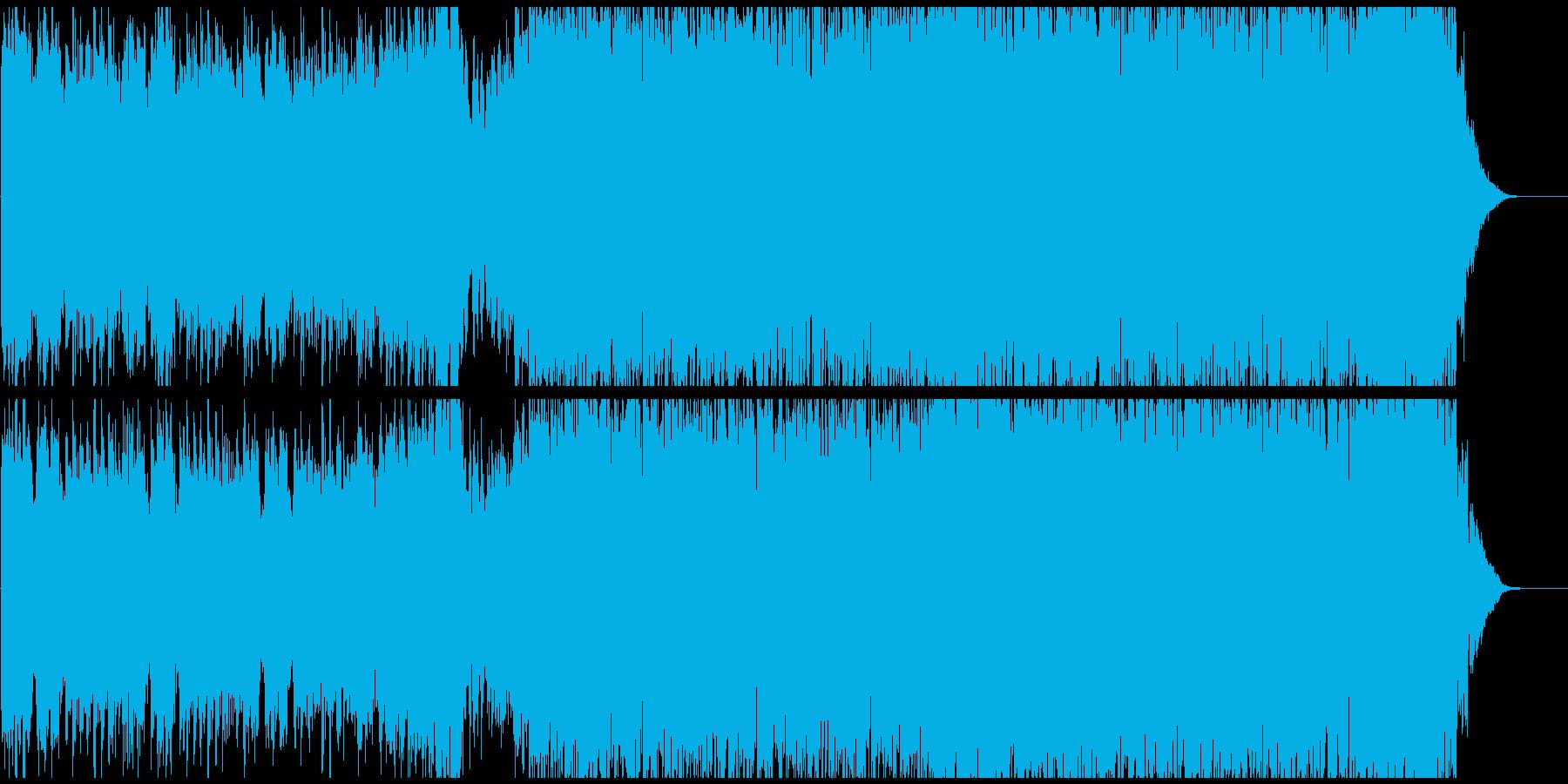 「カノン」ざっくり42秒 EDMまとめの再生済みの波形