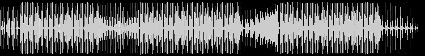 アパレルブランドの映像/ランウェイBGMの未再生の波形