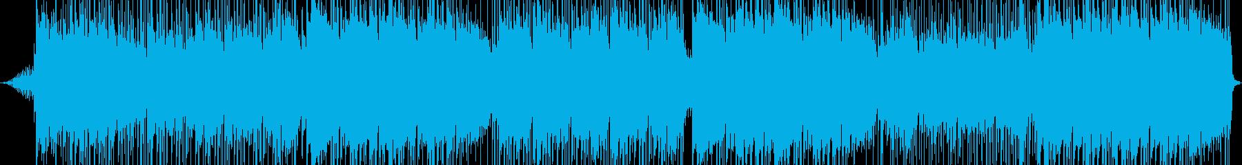 エネルギー。ハードロック。の再生済みの波形
