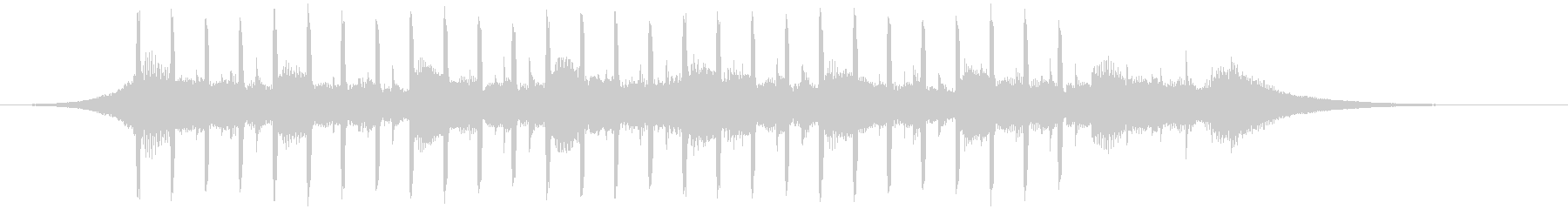 ヘルスケア(ショート2)の未再生の波形