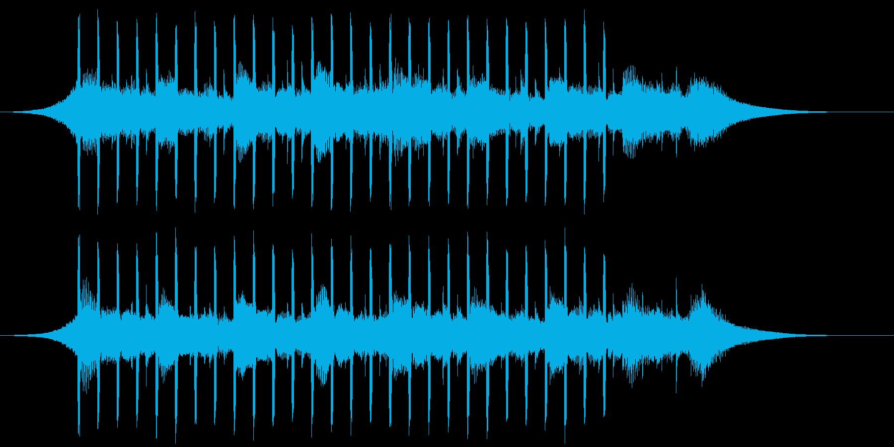 ヘルスケア(ショート2)の再生済みの波形