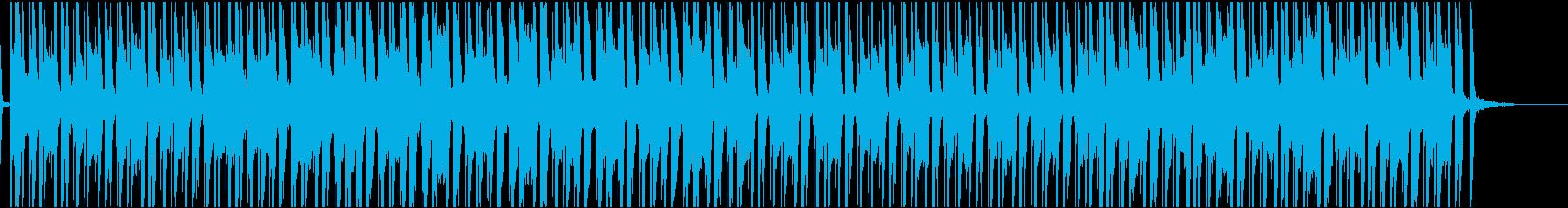 SNS動画にぴったり陽気な生口笛の曲の再生済みの波形