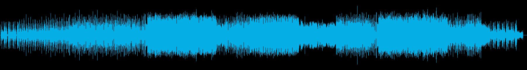 女声ボーカル、EDMの再生済みの波形