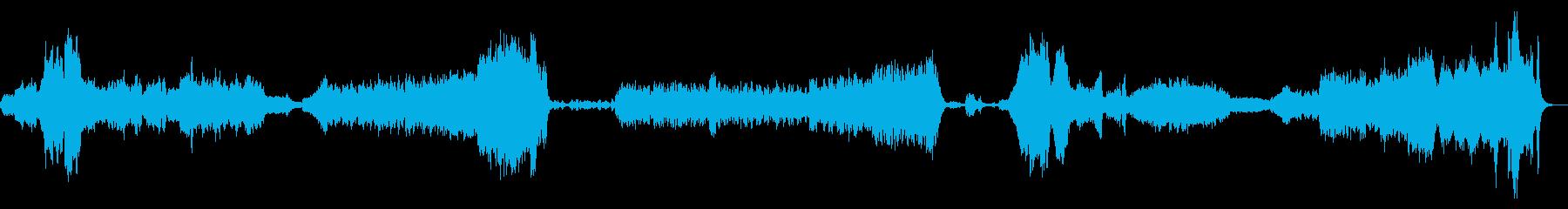 『木星』オーケストラ ホルストの再生済みの波形