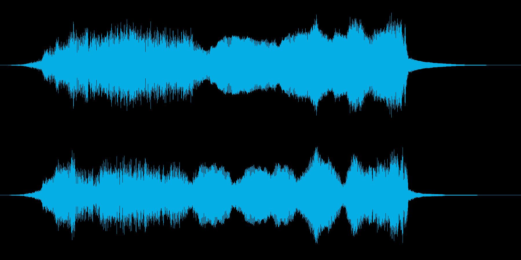 クリーンスイープの再生済みの波形