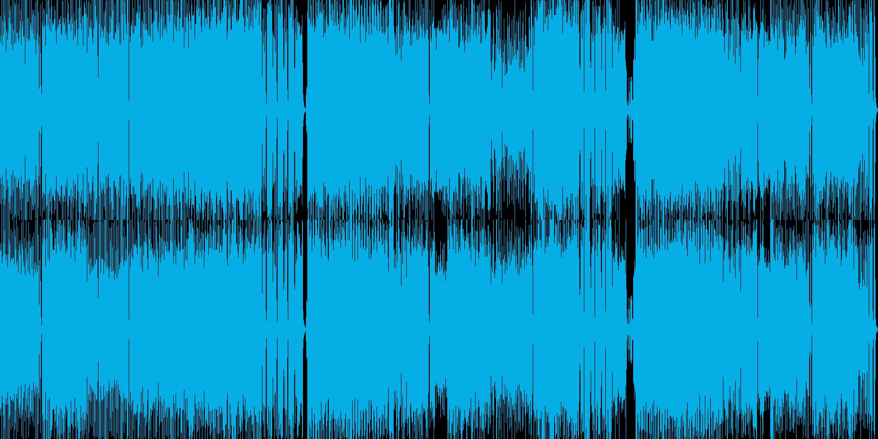ロックループBGMギターオーケストラ進撃の再生済みの波形