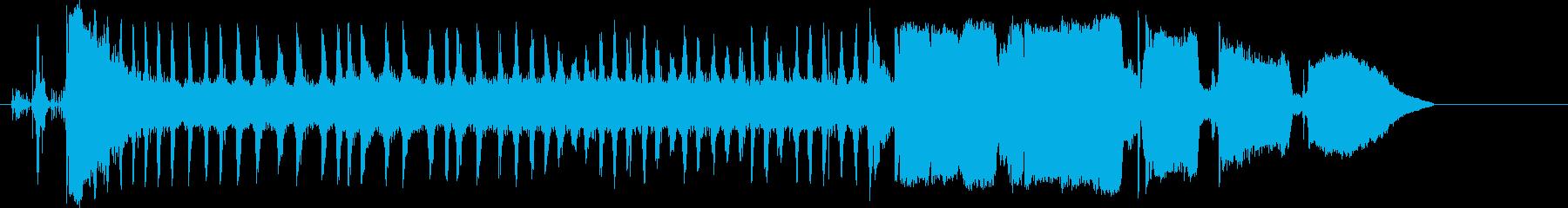 オートバイ;スタート/アウェイ;ト...の再生済みの波形