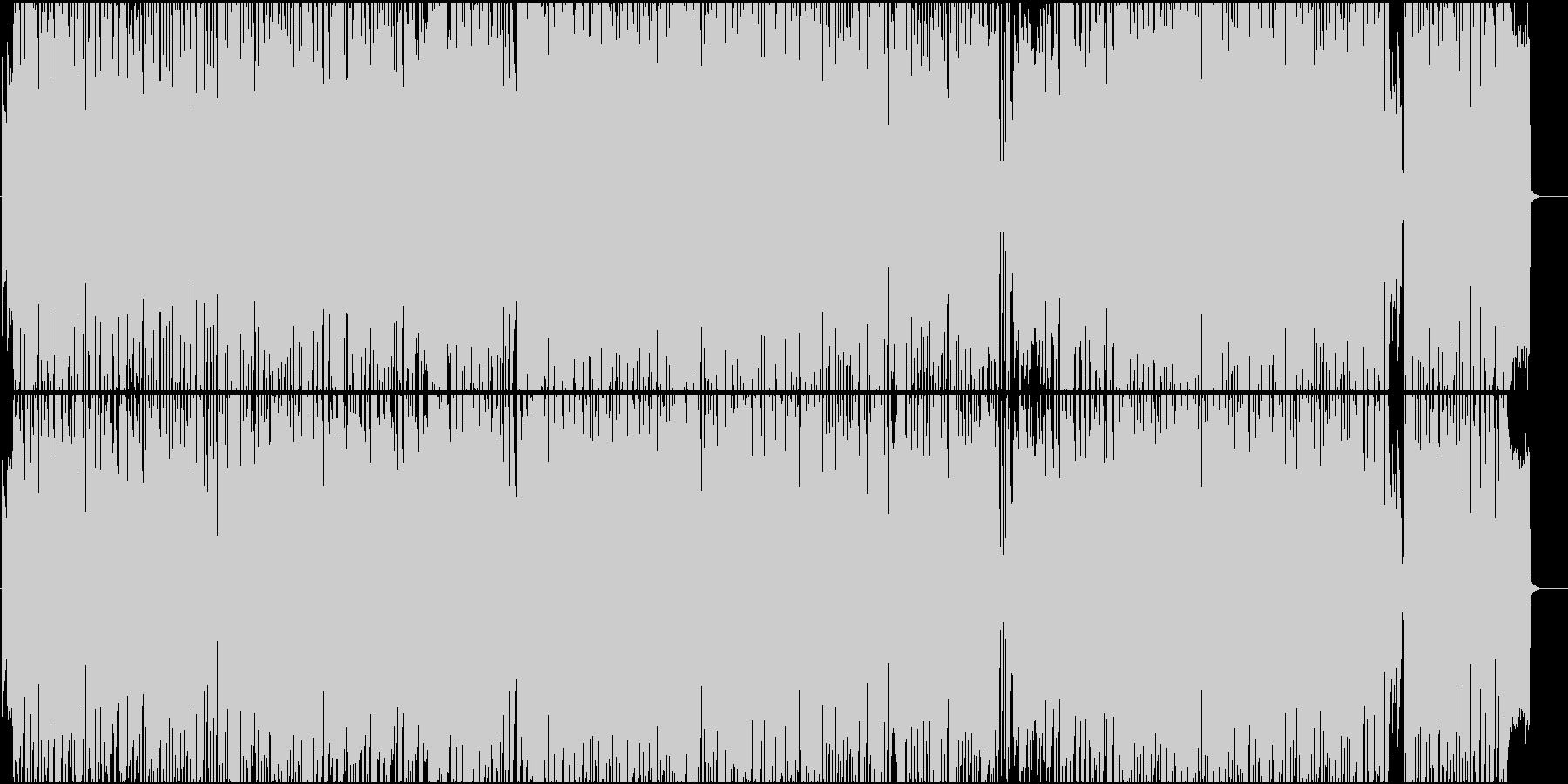 リズムゲーム使用を想定したアイドルソングの未再生の波形
