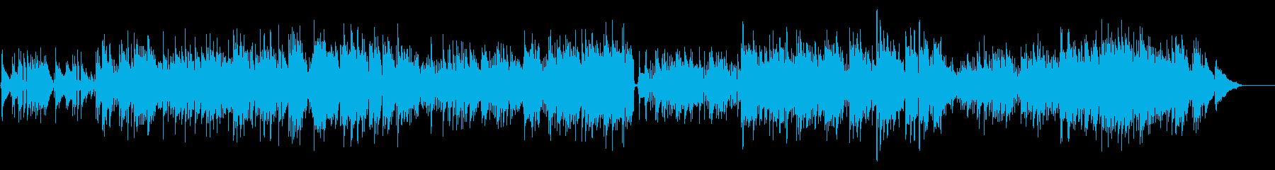【ドラム&ストリングスなし】哀愁ボサノバの再生済みの波形