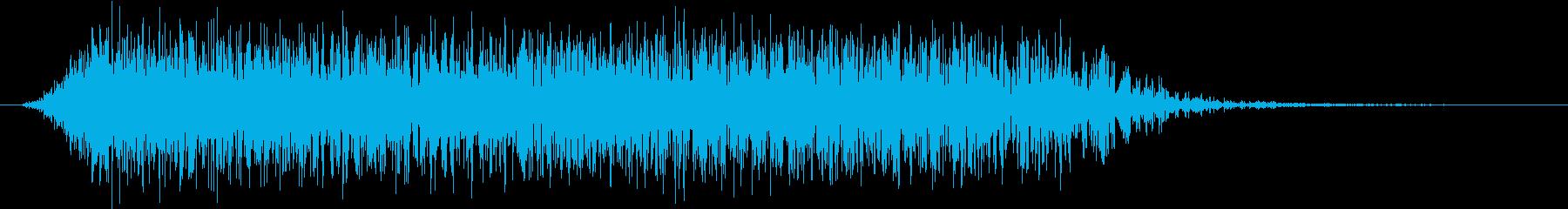 モンスター 悲鳴 40の再生済みの波形
