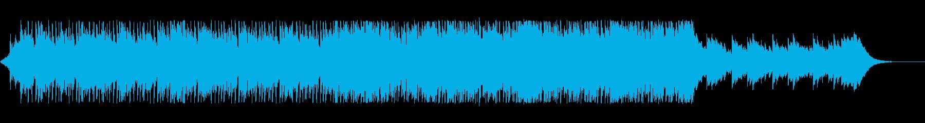 ピアノ/悲しい/ゆっくり/ゆったりテクノの再生済みの波形
