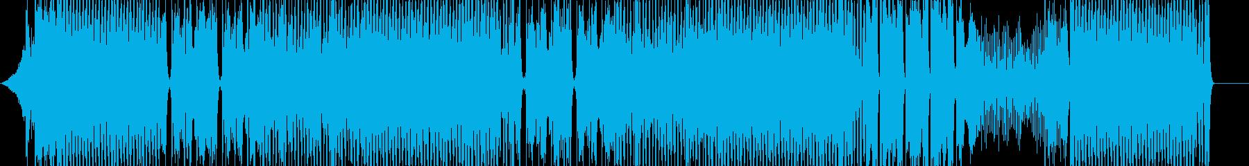 レディー・ガガ。ポップダンススタイ...の再生済みの波形