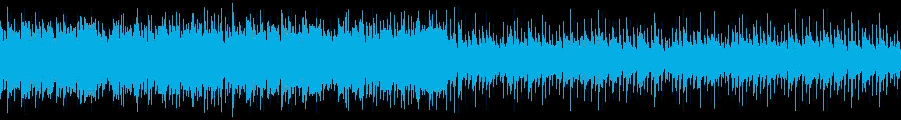 雄大で爽やかな和風ポップ(ループの再生済みの波形