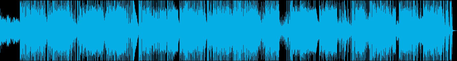 LOFIでやんちゃ感のあるHIP HOPの再生済みの波形