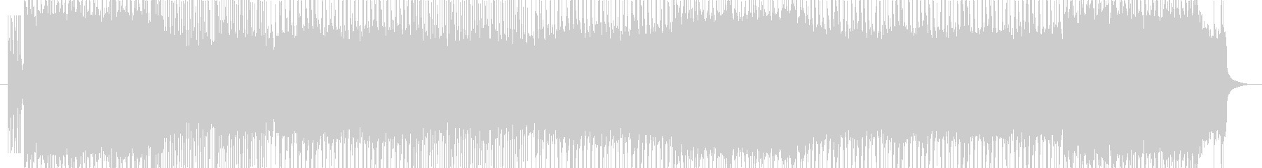 ポップパンク。同名楽曲のカラオケver。の未再生の波形