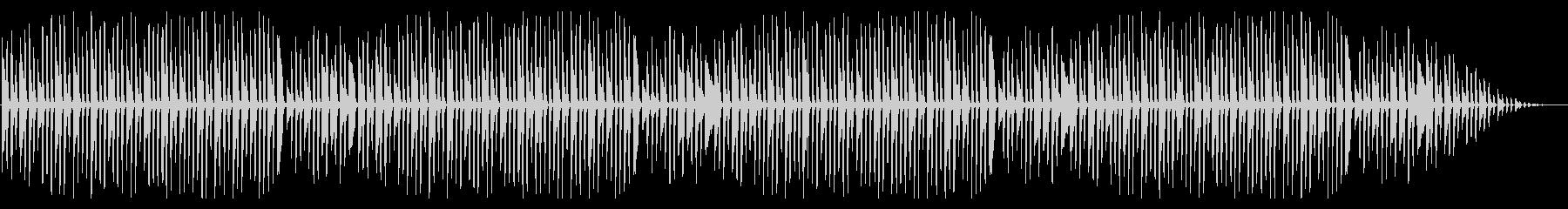 童謡「ちょうちょ」シンプルなピアノソロの未再生の波形
