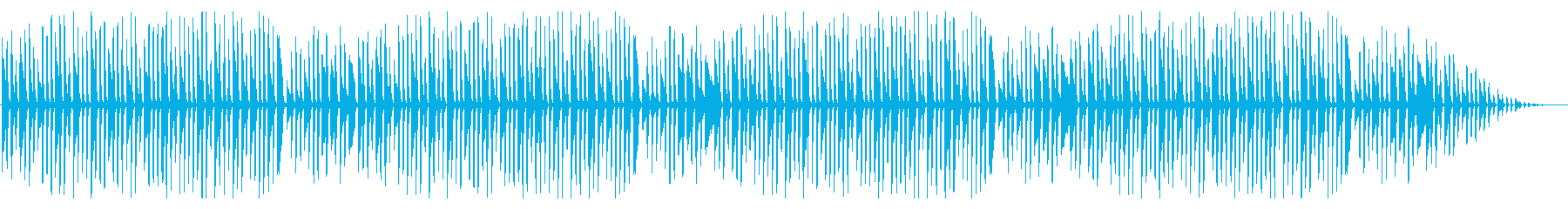 童謡「ちょうちょ」シンプルなピアノソロの再生済みの波形