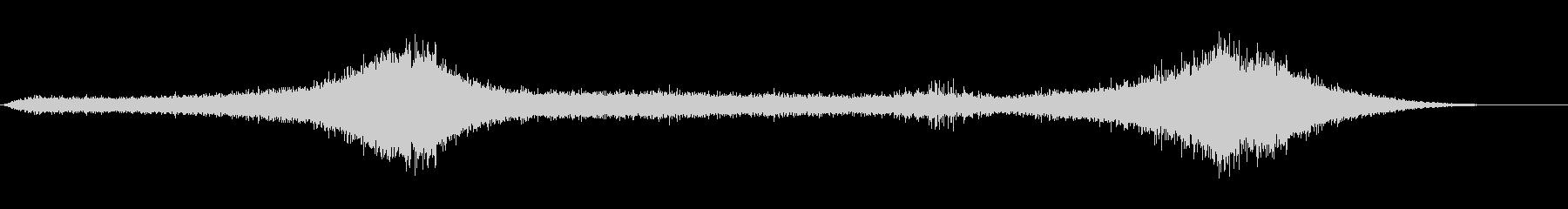 【生録音】 早朝の街 交通 環境音 19の未再生の波形