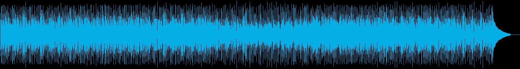 明るく軽快なアップテンポ和風/三味線と琴の再生済みの波形