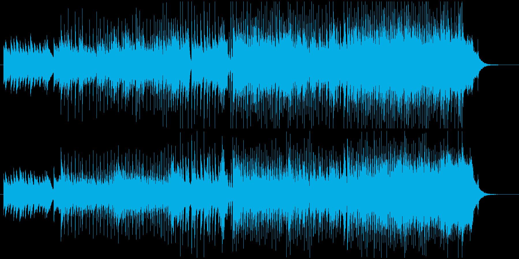 笑顔になる遊び心がたくさん詰まった音楽♪の再生済みの波形