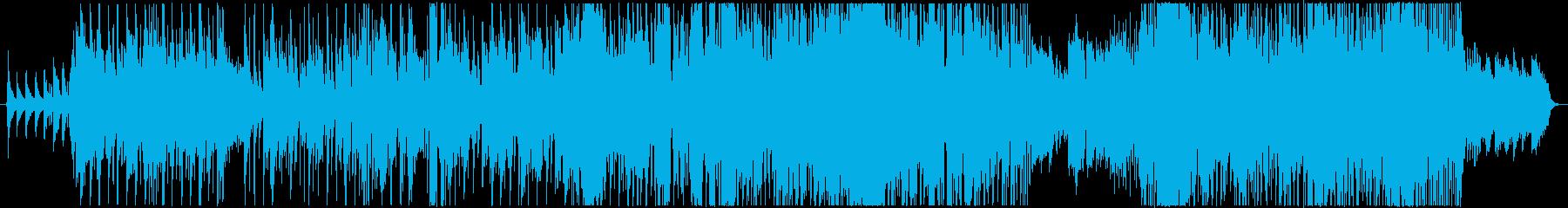 山に囲まれてもの再生済みの波形