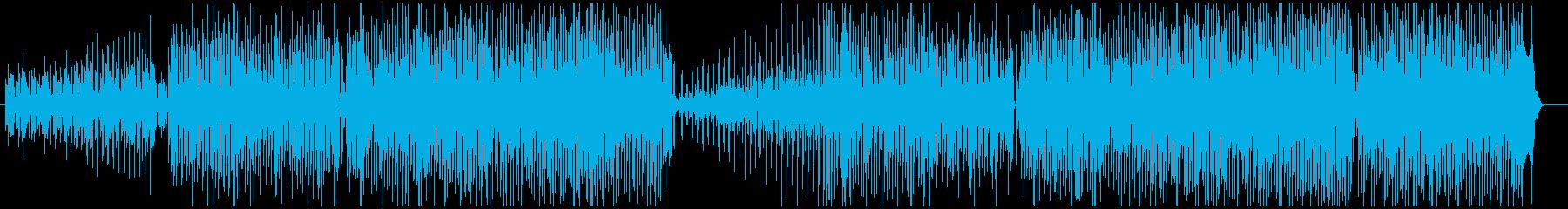 フュージョン ジャズ ハウス ダン...の再生済みの波形