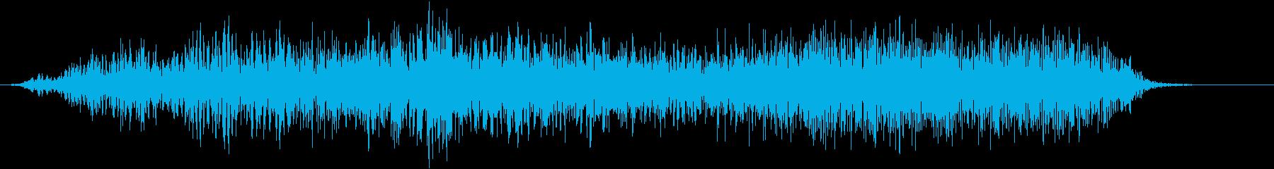 【物音】 ひきずる音_16 ギギギッッの再生済みの波形