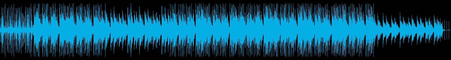 おもちゃでゆるめのリラックスできる楽曲の再生済みの波形