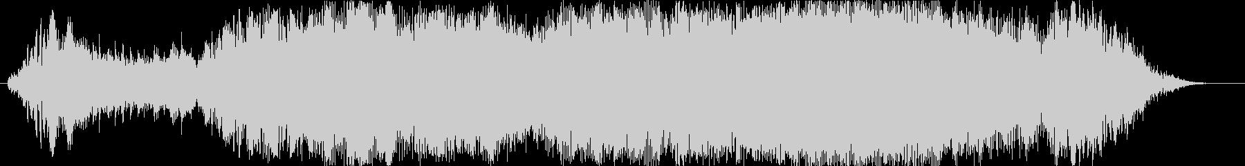 ハープによるショートジングルの未再生の波形