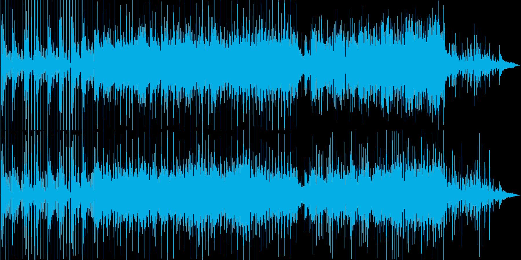 【ピアノ】映像制作オープニング・CM向けの再生済みの波形