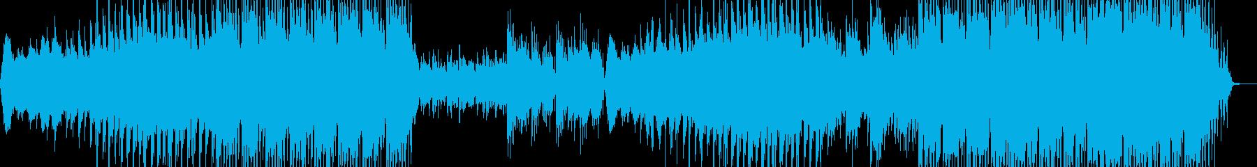 映像のためのアジア風音楽ー果実の再生済みの波形