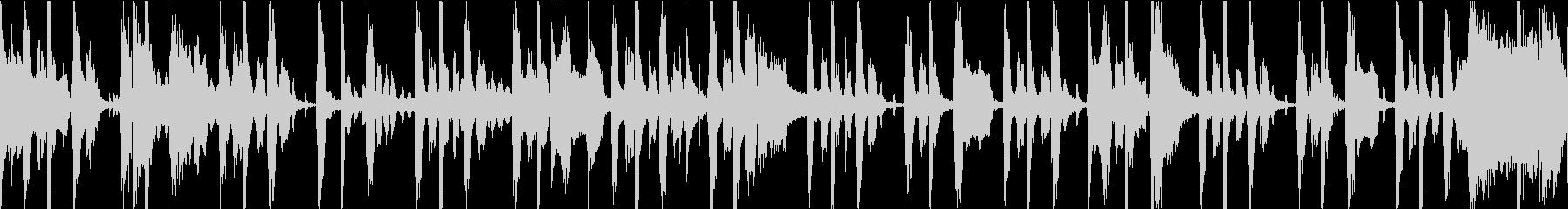 ゆっくりと溝が刻まれたレゲエトラッ...の未再生の波形