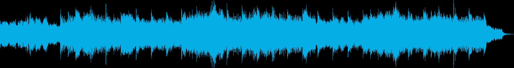 メディテーションなアンビエントの再生済みの波形