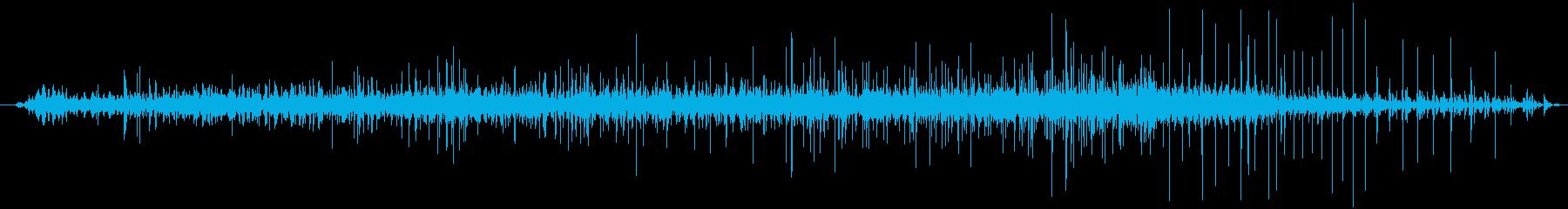 プロジェクターフィルムトランスファ...の再生済みの波形