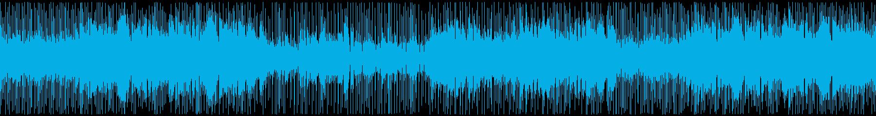 和風VP系3、和楽器ロック、バトル疾走Cの再生済みの波形